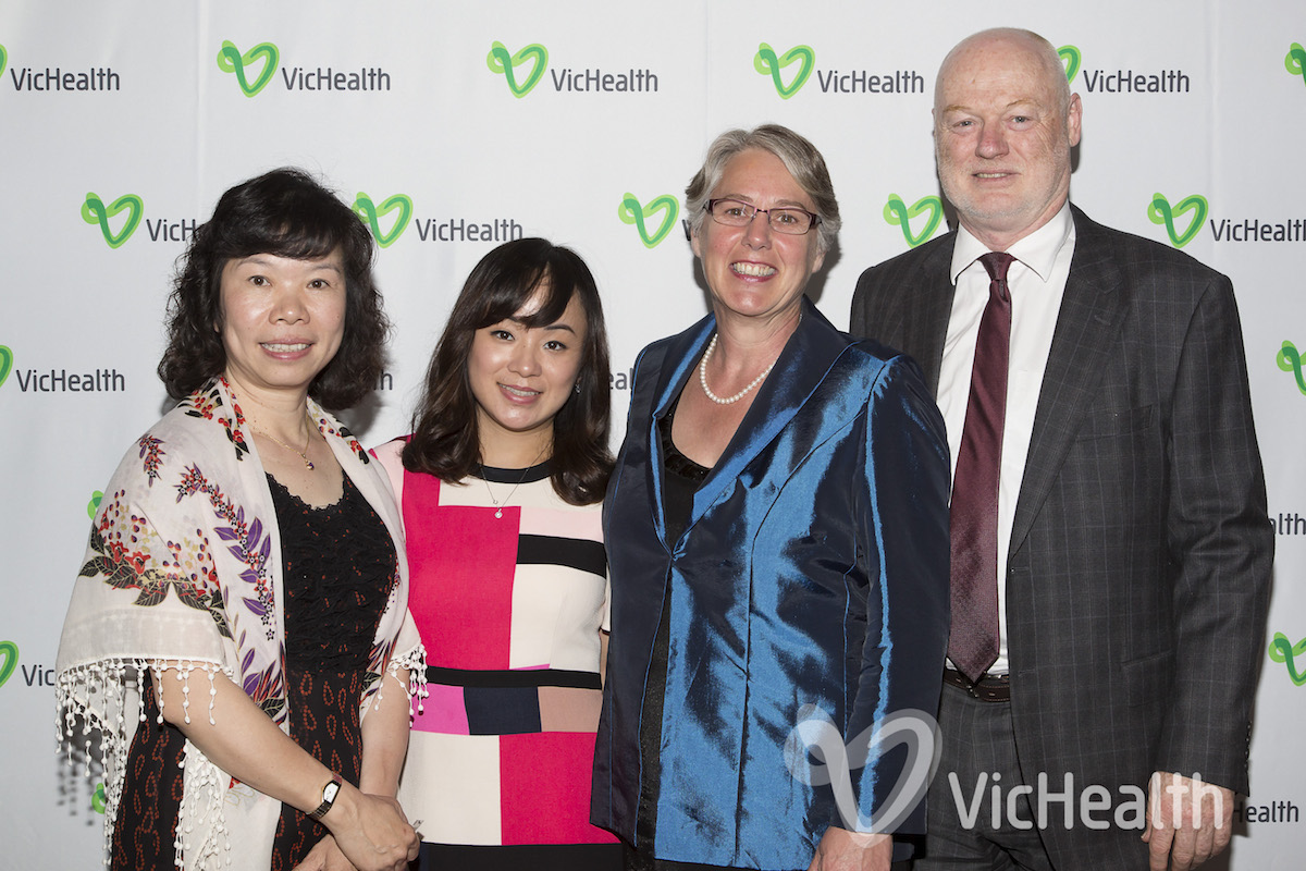 VicHealth Awards - December 1st 2015, NGV International. To view or download images, please use the password VHAWARDS